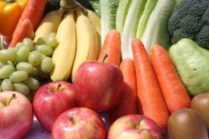 schnell und gesund abnehmen ohne Sport mit Obst und Gemüse
