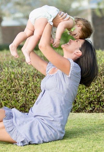 Abnehmen nach der Schwangerschaft mit Sport